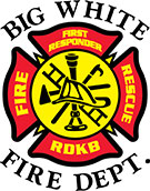 Big White Fire Department logo